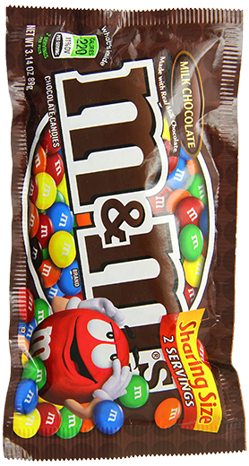 3.14oz Share Size M&M's
